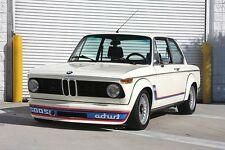 BMW 2002 Turbo Side, Front Decals