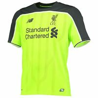 New Balance Mens Gents Football Soccer Liverpool Third Shirt Jersey 2016-17