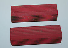 Harley Knucklehead Panhead Red Kicker Pedal Rubbers Bicycle Style 2 Pack (161)