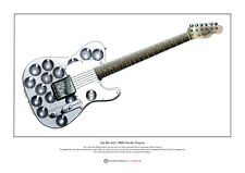 Syd Barrett's Fender Esquire Limited Edition Fine Art Print A3 size