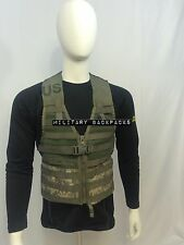 Mint Digital Camo FLC Tactical Molle II Vest Fighting Load Carrier Harness Rack