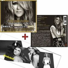 CELINE DION Loved Me Back To Life 2013 Taiwan Edition [CD+4 Cards] New Sealed