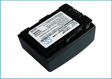 3.7V battery for Samsung HMX-F50BN, HMX-H304, SMX-F50, HMX-H300BP Li-ion NEW