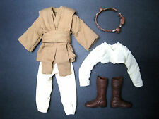 "1/6 Obi Wan outfit Hasbro Star Wars for 12"" Hot Toys Sideshow Figure Custom"