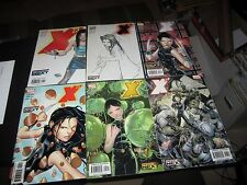 COMPLETE SET X-23 MARVEL NEXT SERIES 1 THRU 6 !!!!!
