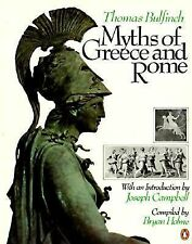 Myths of Greece and Rome by Thomas Bulfinch (1981, Paperback, Reprint)