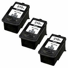 Ink Cartridge Canon PIXMA MP240 MP270 MP490 MX320 MX360 Printer PG-210XL 3 Pack