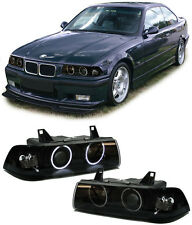BMW e36 Coupe Cabrio CCFL ANGEL EYES FANALI NERO