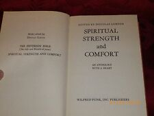 Lurton, Douglas E. Spirtual Strenght and Confort an Anthology with a Heart 1941