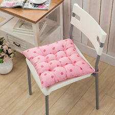 40x40cm Dining Garden Patio Home Kitchen Office Chair Seat Pads Cushion Pink