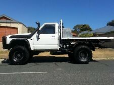 KUTSNAKE GQ FLARES WHEEL ARCH FLARES SUIT PATROL GQ UTE FRONTS ONLY