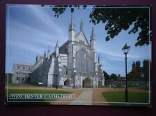 POSTCARD HAMPSHIRE WINCHESTER CATHEDRAL -