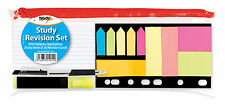 TIGER STUDY REVISION SET IN CLEAR ZIPPED CASE - KIDS SCHOOL COLLEGE OFFICE *NEW*
