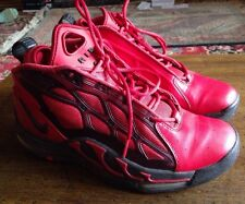Nike air max pillar Sneakers Basketball Shoes size 9 mens #525226-600 Red Black