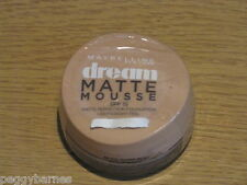 MAYBELLINE DREAM MATTE MOUSSE FOUNDATION 18g CARAMEL