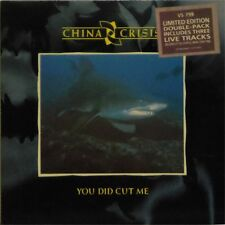 "CHINA CRISIS 'YOU DID CUT ME' UK PICTURE SLEEVE 2 x 7"" SINGLE PACK"