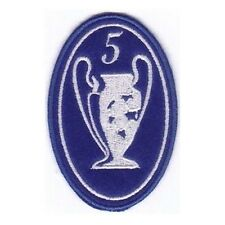 [Patch] CHAMPIONS LEAGUE numero 5 replica cm 5 x 7,5 toppa ricamata ricamo -204