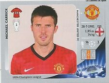 N°523 CARRICK # ENGLAND MANCHESTER UNITED CHAMPIONS LEAGUE 2013 STICKER PANINI