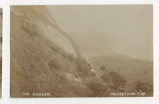 Folkestone, The Warren 1930 Real Photo Postcard, A702
