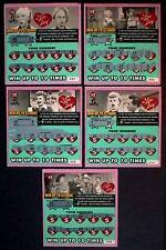 I Love Lucy CT  Instant Lottery Ticket Set issued in 2005