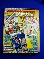 Comic Book Nerd 1: spoof on Comic Book Artist mag. TwoMorrows 2006. VFN
