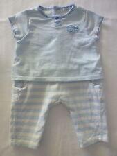 Obaïbi***Ensemble combinaison marin 2 en 1  3 mois/60 cm Bleu et blanc