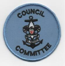 """Sea Scout Council Committee Position, 3"""" Round, """"Since 1910"""" Back (New!)"""
