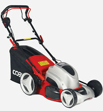"COBRA MX46SPE 18"" Self Propelled Electric Lawnmower 4 in 1 Mulch/Side Discharge"