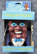 """The California Raisins"" 1987 Fingertronic Puppet Theatre Original Package Box"