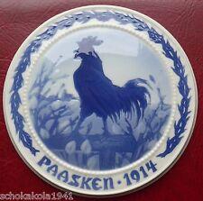 Paasken Royal Copenhagen Osterteller von 1914!!! sehr selten dieser frühe Teller