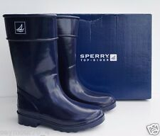 New Sperry Top-Sider  Kids Pelican Navy Rain Boots Size 13M