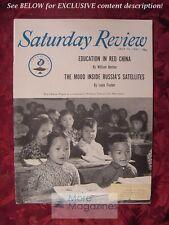 Saturday Review July 15 1961 RED CHINA LOUIS FISCHER WILLIAM BENTON