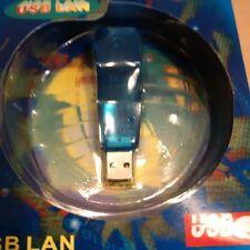 ADATTATORE DA USB A FAST ETHERNET 10/100 RJ45 usato