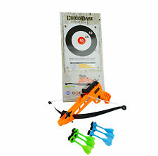 CROSSDARTS Toy Archery Set - Target Bulls-eye Outdoor Sport Darts gift