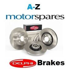FOR PEUGEOT 207 CC 2007-  FRONT DELPHI BRAKE DISCS SET AND DISC PADS KIT