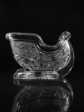 Royal Limited Lead Crystal Sleigh, Christmas, Collector's Condition