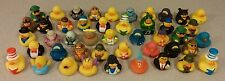 HUGE LOT OF 25 Assorted Rubber Duck Ducks Duckys Duckies