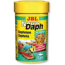 JBL NovoDaph Daphnia Freeze Dried Novo Daph Popular Treats for Fish & Shrimp