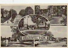 """""POSTCARD MULTIVIEW CHALKWELL PARK,NR SOUTHEND ON SEA,ESSEX"""""