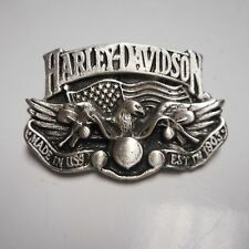 HARLEY DAVIDSON  *****EAGLE / RIDING BIKE **** FANTASTIC****   PIN