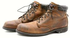 Work n Sport Mens Boots 12 Leather Made in USA Hiker Hiking Hunting Safety Toe