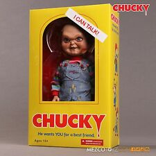 Child's Play Chucky Talking Sneering 15-Inch Doll Action Figure in Box