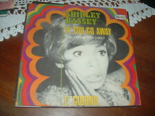"SHIRLEY BASSEY ""IF YOU GO AWAY ( NE ME QUITTE PAS) di Brel - E' GIORNO "" ITALY68"