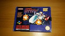 Super r-type-Nintendo SNES game-boxed & testé