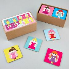 Floss & Rock Fairy Memory Game Set Educational Snap Card Pairs Girl Games Gifts