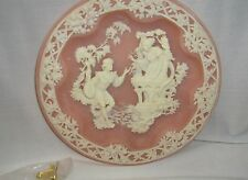 Incolay Stone Collector Plate Romeo & Juliette Shakespearean Lovers Serie 1988
