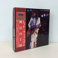 "LED ZEPPELIN ""MAGIK KINGDOM"" 1977, SBD 6-CD BOX SET, EMPRESS VALLEY"