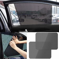 2Pc Car Curtain Side Window Shade Screen Windshield Sunshade Shield Visor Cover