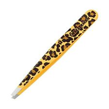 Tweezerman Slant Tweezers - Leopard Print - NEW in BOX, Sealed