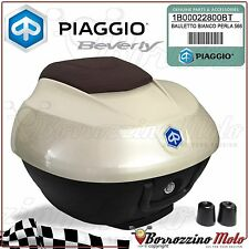 KIT TOPBOX PAINTED 36 LT PEARL WHITE 566 PIAGGIO BEVERLY IE 300 2014 2015
